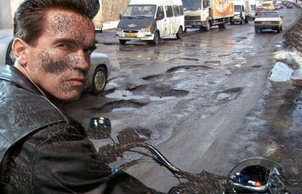 "If the ""Terminator-2"" filmed in Russia..."